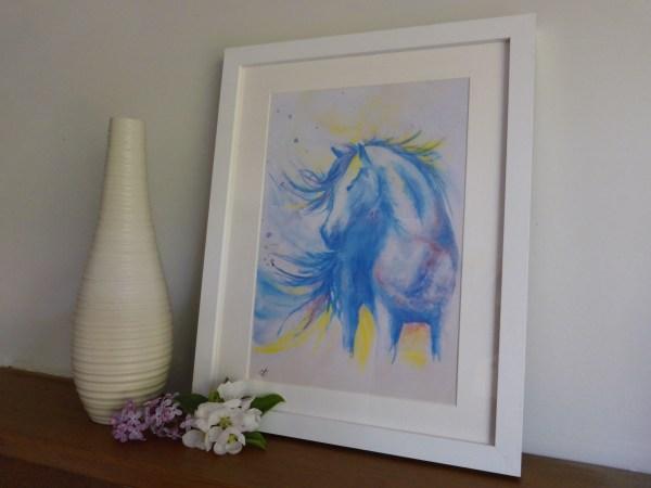 Framed Horse Prints