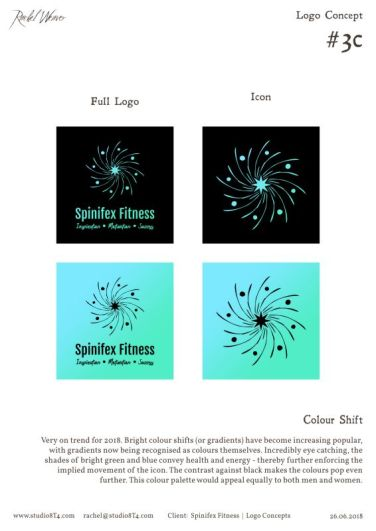 SPINIFEX FITNESS palette exploration 3