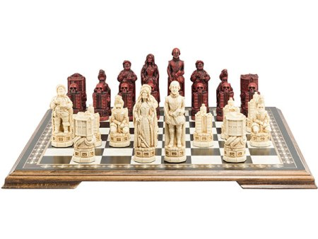 Shakespeare and the Globe Chess Pieces