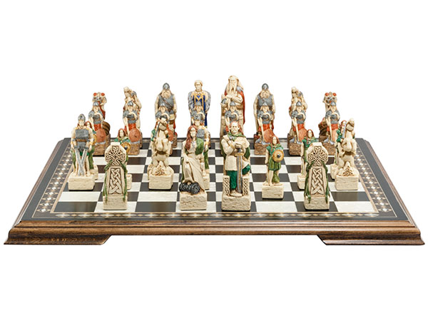 Celtic and Viking Chess Pieces | Studio Anne Carlton