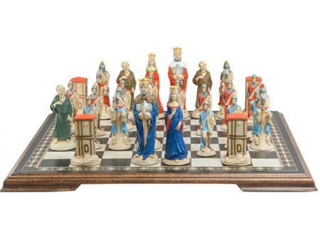 King Arthur and Camelot Chess Pieces