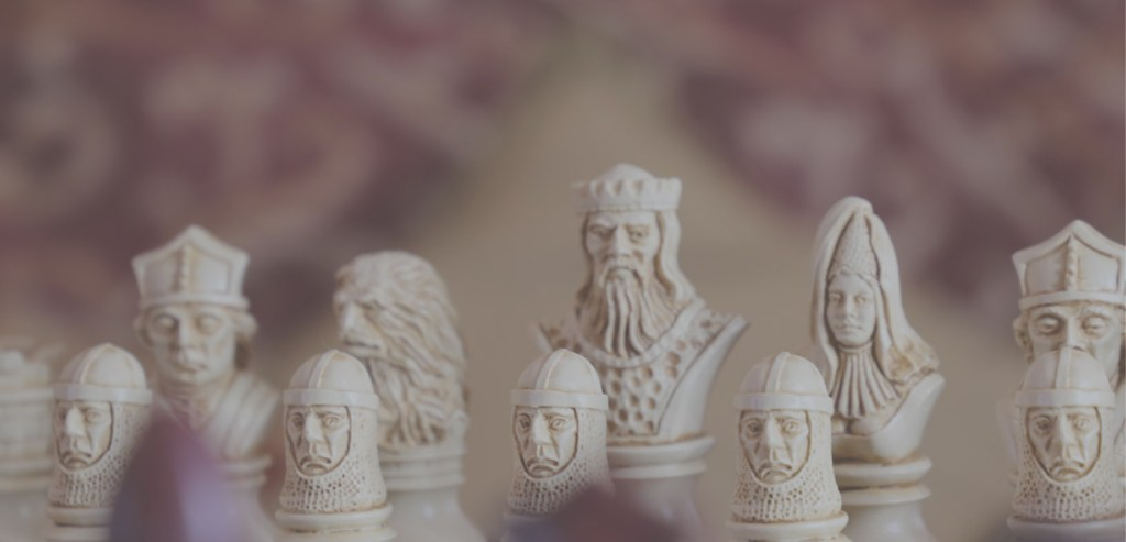 Richard the Lionheart Chess Pieces