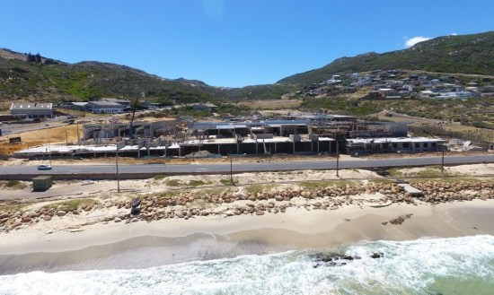 The Studio Art Gallery's Location on Harbour Bay Simonstown