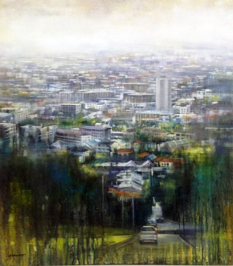 Karen Wykerd | The Studio Art Gallery - 'Bellevue Road'