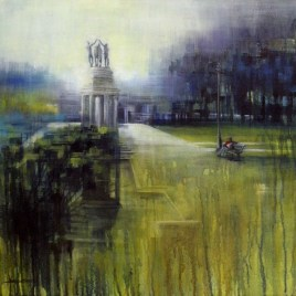 Karen Wykerd | The Studio Art Gallery - 'Wood Memorial Company Gardens'