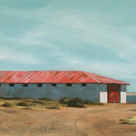 The Studio Art Gallery - Karoo Barn (838) by Donna McKellar