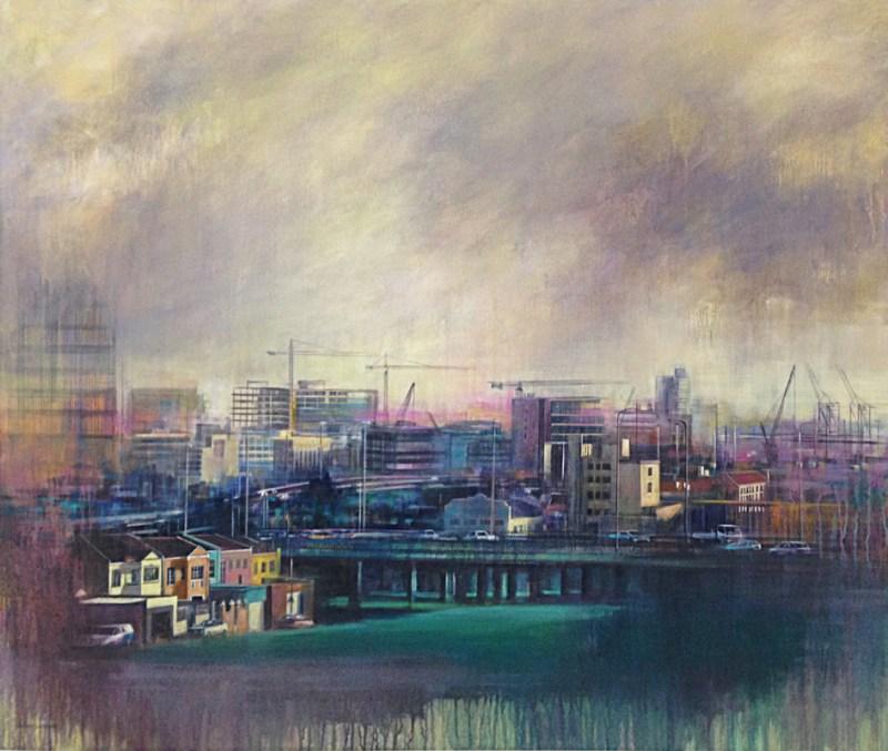 Karen Wykerd | The Studio Art Gallery - 'View of Zonnebloem'