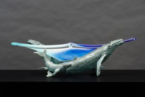 The Studio Art Gallery - Whale Bowl by Richard Gunston