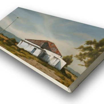 The Studio Art Gallery - Afternoon (845) by Donna McKellar - Stretched Canvas