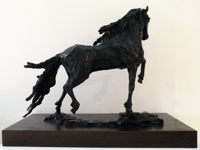 The Studio Art Gallery - Richard Gunston Sculptures - Friesian Detail 2