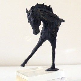 The Studio Art Gallery - Richard Gunston Sculptures - Horse Pride Detail 2