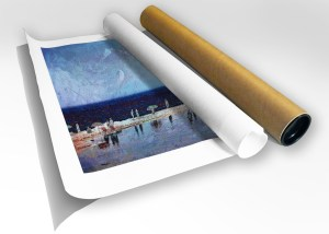 The Studio Art Gallery - Summertime - Canvas Print in Tube