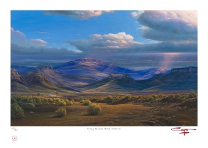 The Studio Art Gallery - Andrew Cooper - Dry River Bed Karoo Limited Edition Print