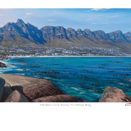 Andrew Cooper | The Studio Art Gallery - Maidens Cove Across To Camps Bay Limited Edition Print