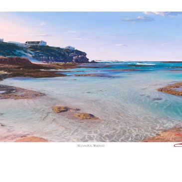 The Studio Art Gallery - Andrew Cooper - Roman Beach Limited Edition Print