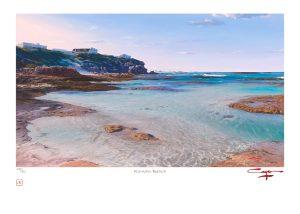 The Studio Art Gallery - Andrew Cooper - Roman Beach Limited Edition Print