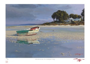 The Studio Art Gallery - Andrew Cooper - Stoffbergsfontein Churchaven Lagoon Limited Edition Print