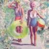 Karen Wykerd | The Studio Art Gallery - 'Aquarius II' (Detail 1)