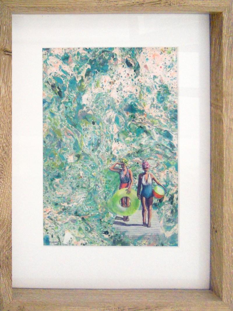 Karen Wykerd | The Studio Art Gallery - 'Aquarius II'
