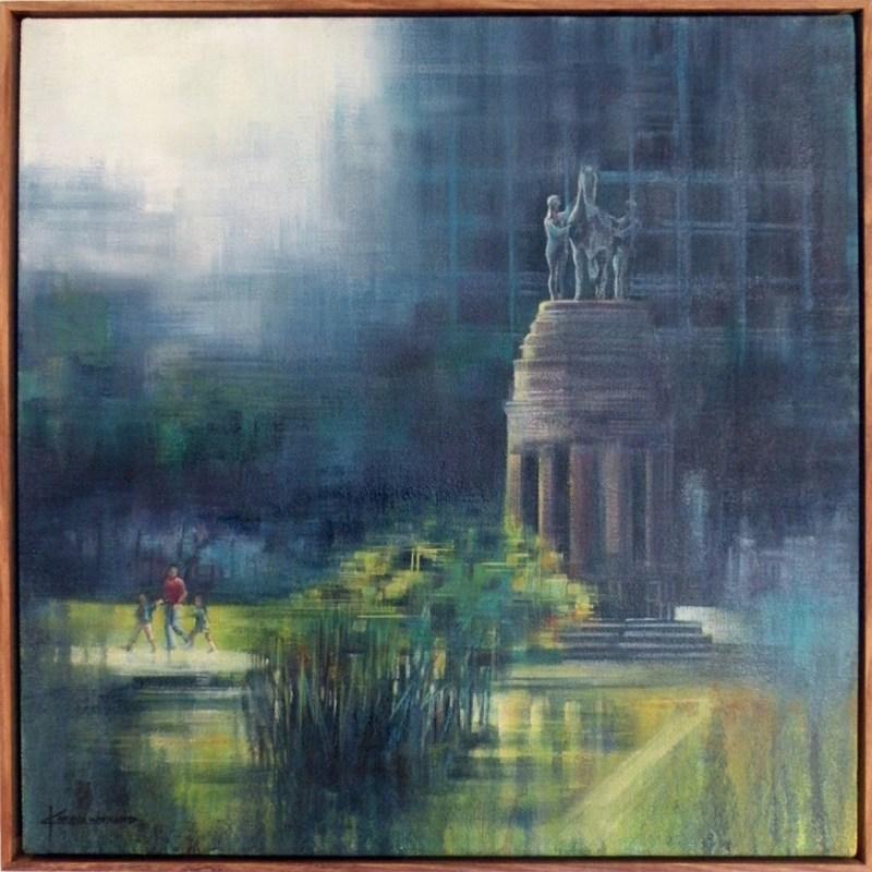 Karen Wykerd | The Studio Art Gallery - 'Delville Wood Memorial'