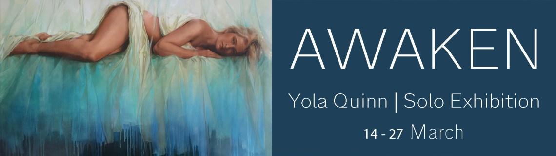The Studio Art Gallery - Exhibition Header - Awaken - Yola Quinn