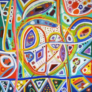The Studio Art Gallery - Shapes of a Dream by Lolly Hahn-Page