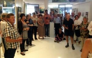 The Studio Art Gallery - Refinery Opening Pic 17 Marelise Van Wyk