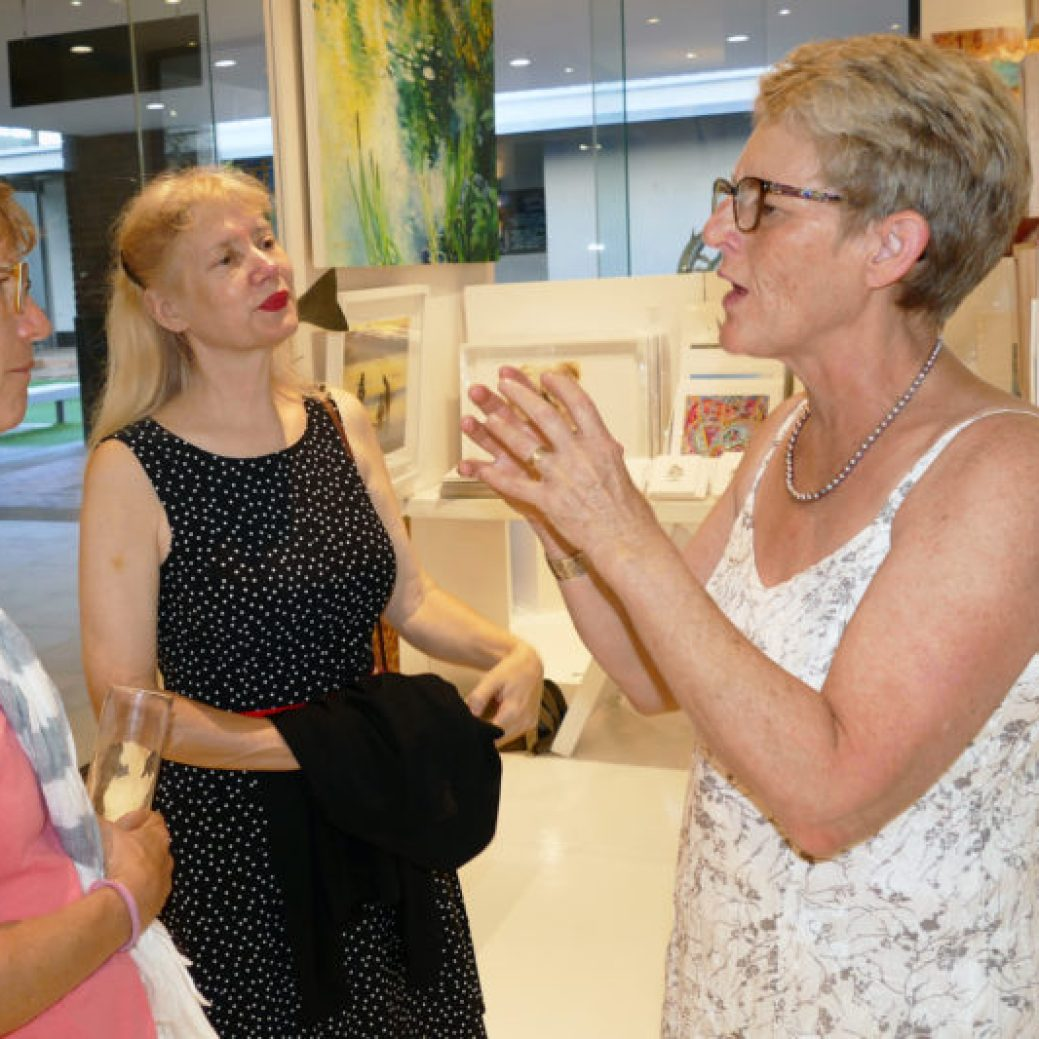 The Studio Art Gallery - Marelise Van Wyk - Refinery Opening Event Pic 2