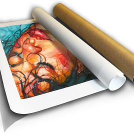 The Studio Art Gallery - Sophia - Canvas Print in Tube by Therese Mullins