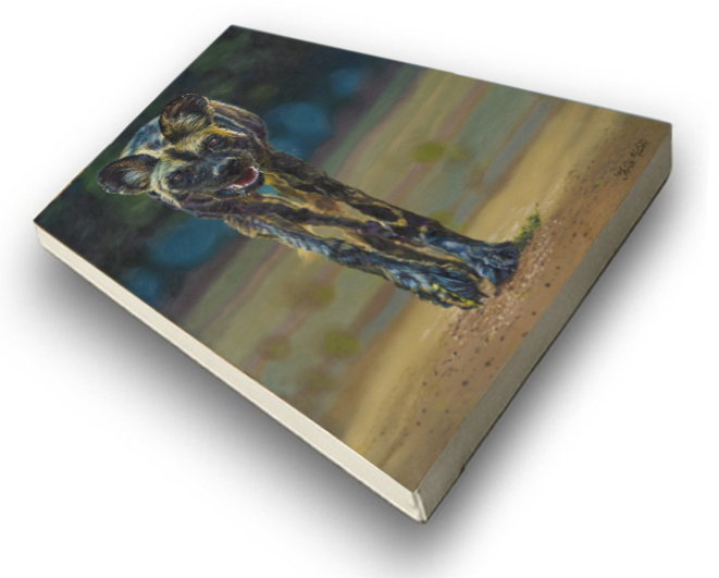 The Studio Art Gallery - Untamed by Therese Mullins - Stretched Canvas