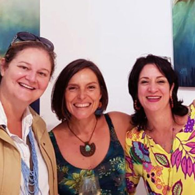 The Studio Art Gallery - Awaken a Solo Exhibition by Yola Quinn - Opening Pic 5a