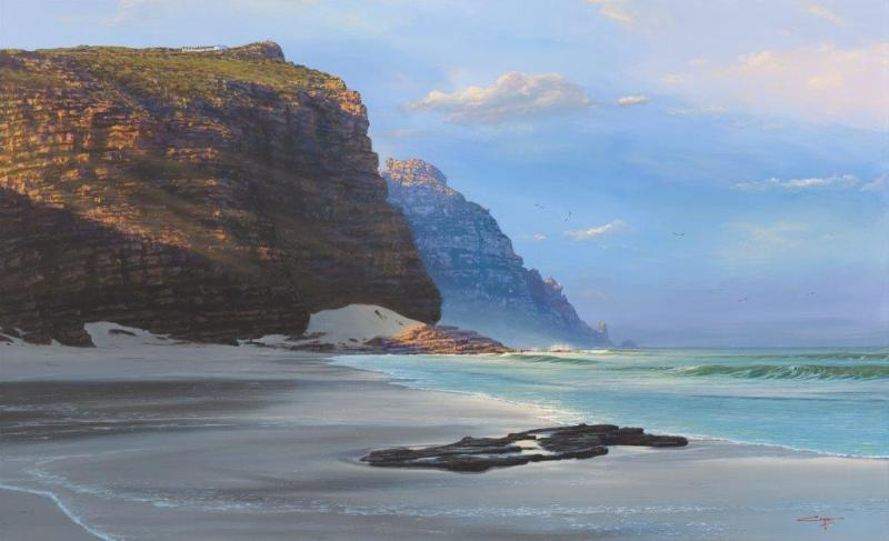 The Studio Art Gallery - Diaz Beach Cape Point by Andrew Cooper