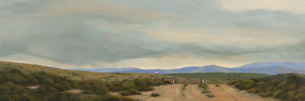 The Studio Art Gallery - Distant Storm 864 by Donna McKellar