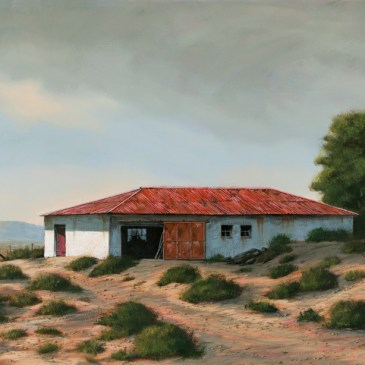 The Studio Art Gallery - Karoo Barn 852 by Donna McKellar
