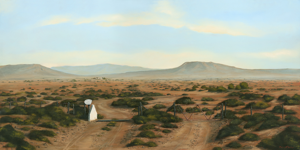 The Studio Art Gallery - Karoo Gates 865 by Donna McKellar