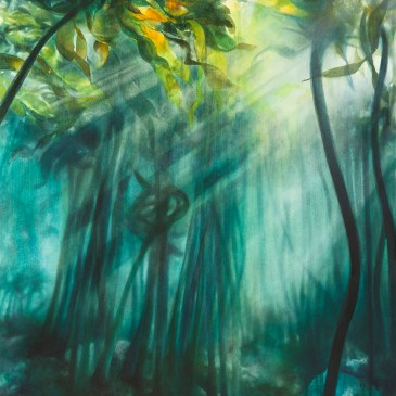 The Studio Art Gallery - Eco-Logic Awards 2019 - Artist for Nature Exhibition - Paula DuBois - Help Forest 1