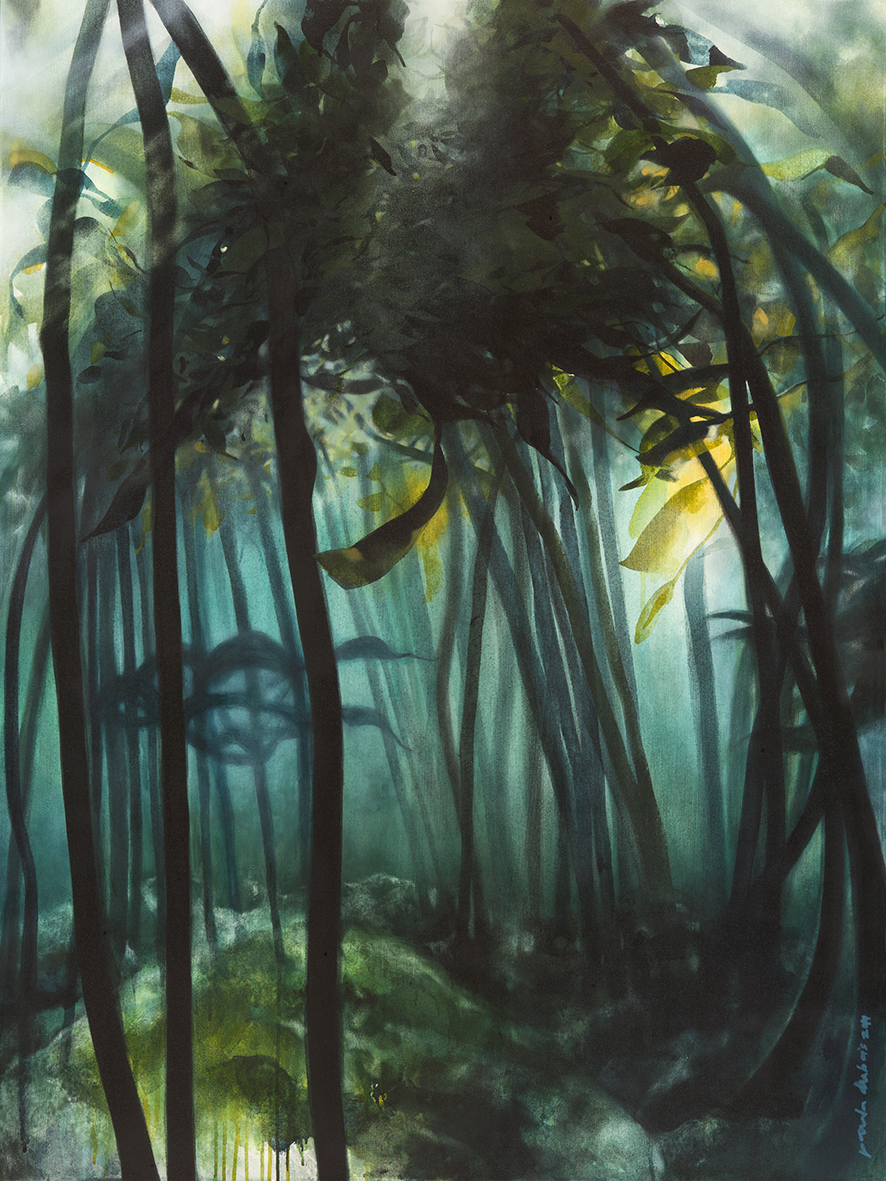 The Studio Art Gallery - Eco-Logic Awards 2019 - Artist for Nature Exhibition - Paula DuBois - Help Forest 2