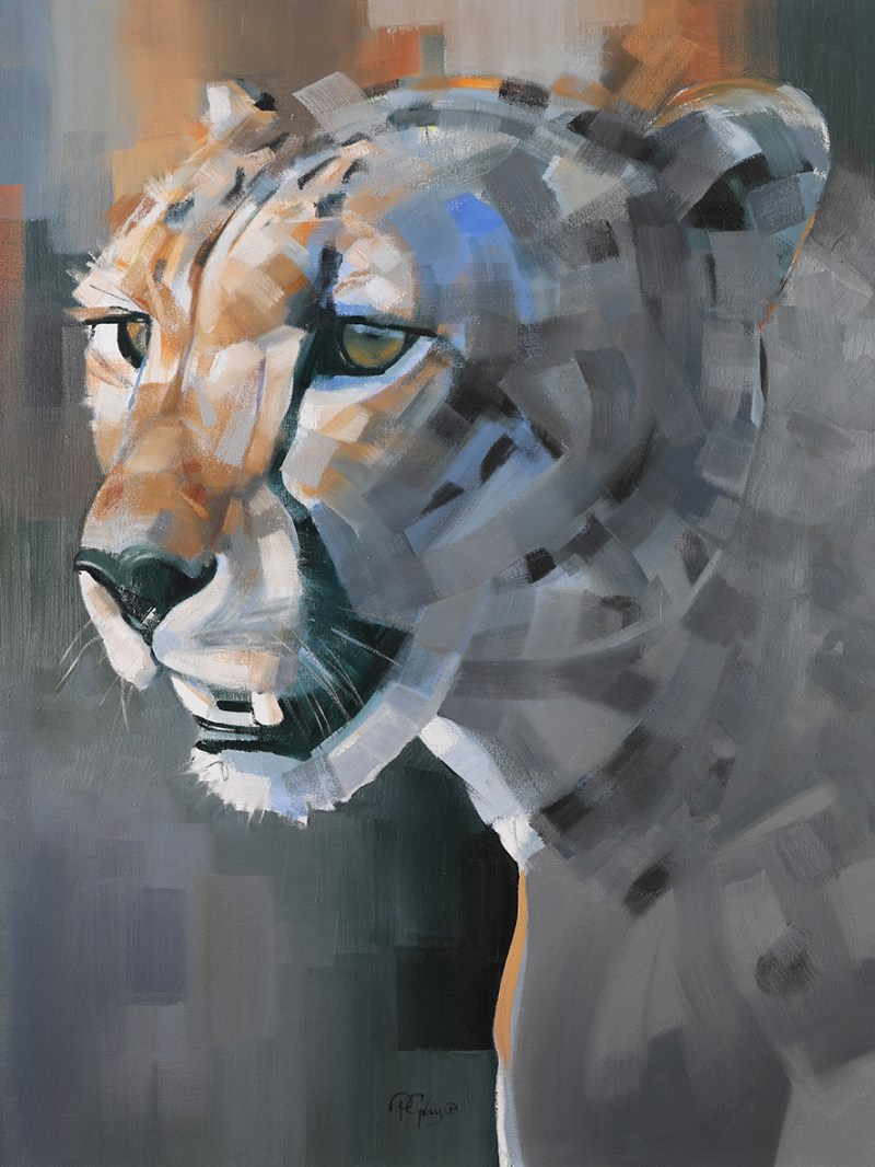 The Studio Art Gallery - Eco-Logic Awards 2019 - Artist for Nature Exhibition - Peter Gray - Game to Spot