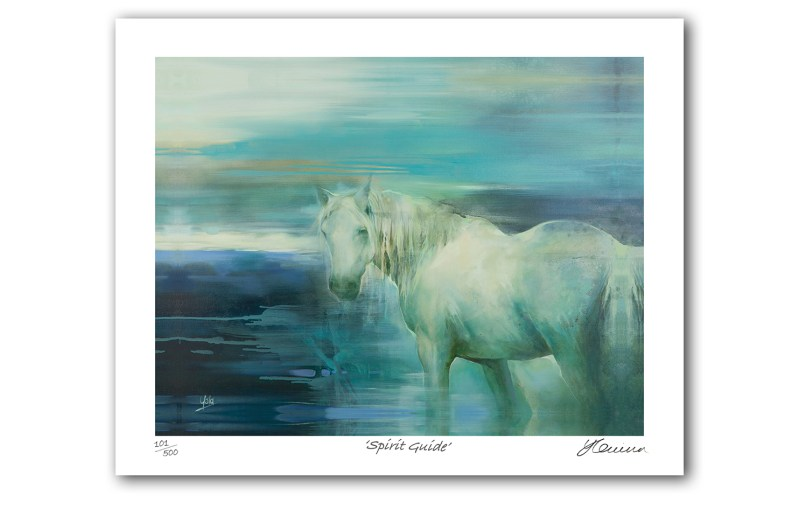 The Studio Art Gallery - Spirit Guide by Yola Quinn - Archival Print on Paper