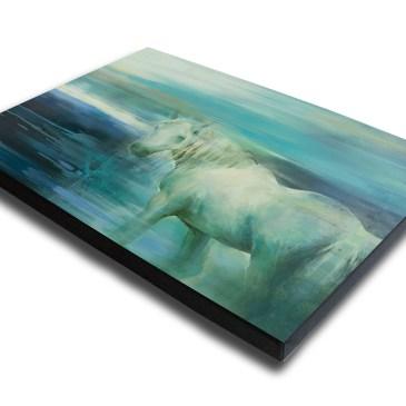 The Studio Art Gallery - Spirit Guide by Yola Quinn - Canvas Print on Stretcher