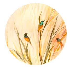 The Studio Art Gallery - Sunbirds by Yola Quinn