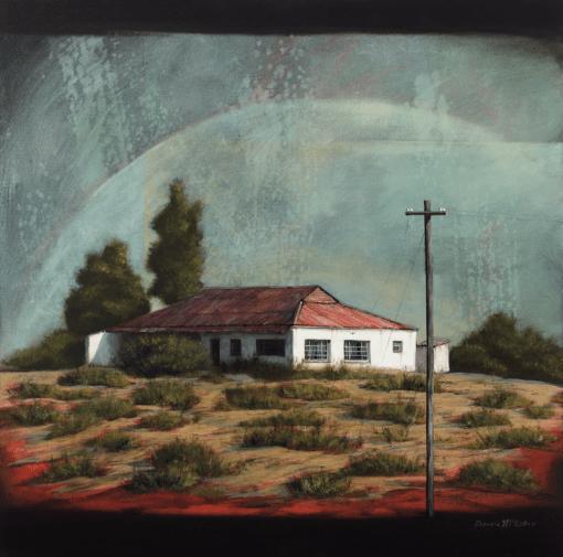 The Studio Art Gallery - Tweeling Barn #654 by Donna McKellar