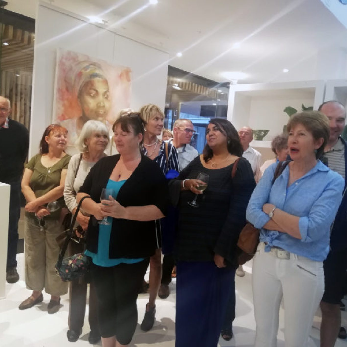 The Studio Art Gallery - From Africa With Love - Opening Pic 7