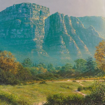 Andrew Cooper | The Studio Art Gallery - Constantia Hills Size, 80cm by 90cm, Acrylic on Canvas