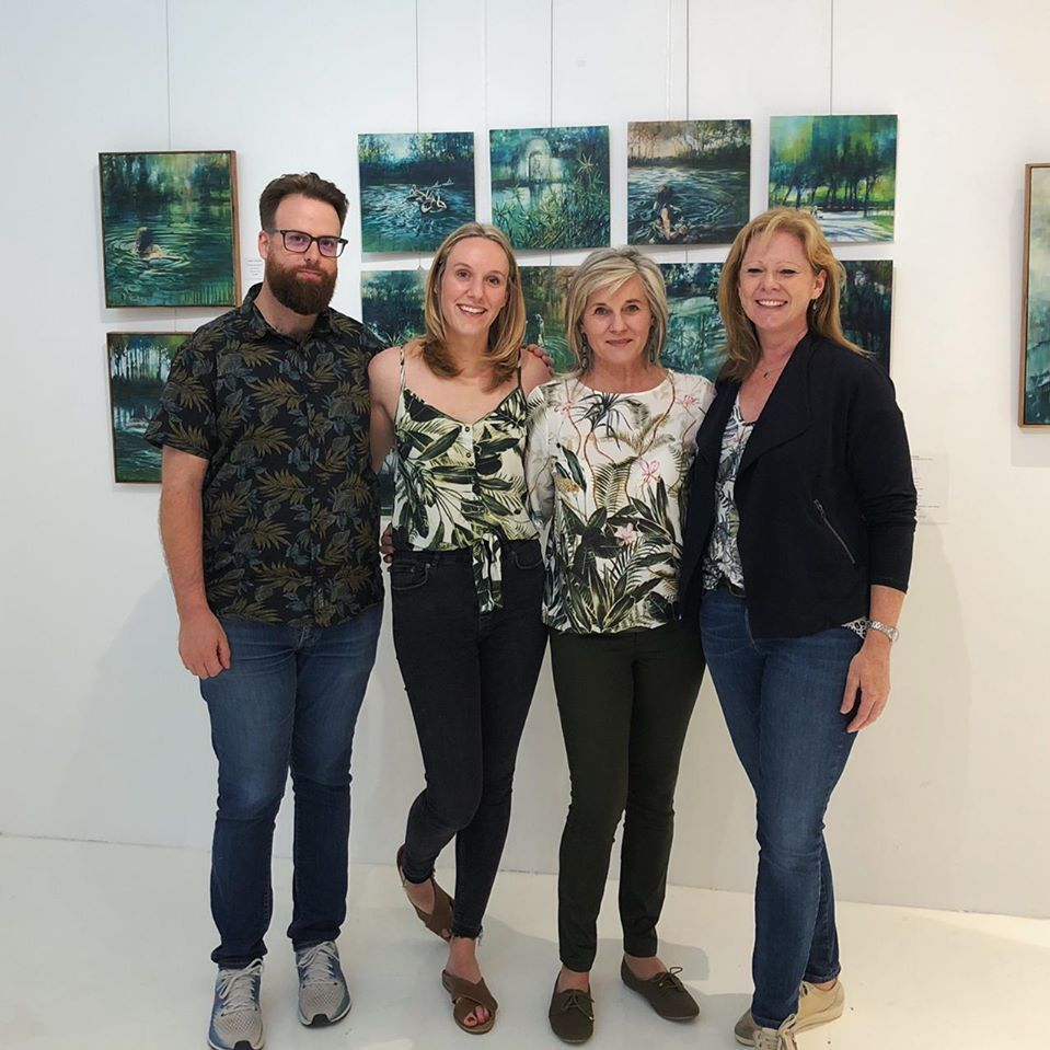 Karen Wykerd | The Studio Art Gallery - Exhale - Opening Pic 9