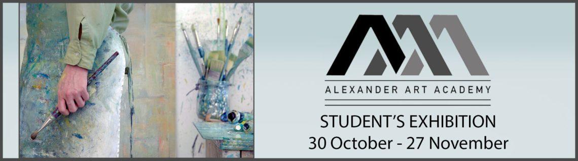 The Studio Art Gallery   2021 AAA Students Exhibition   Exhibition Header