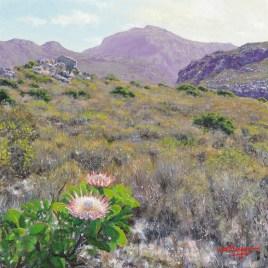 The Studio Art Gallery   2021 Mandela Day Block Art Exhibition   Andrew Cooper - In Amongst Nature