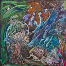 The Studio Art Gallery   2021 Mandela Day Block Art Exhibition   N.D Mazin - #1 Pandora