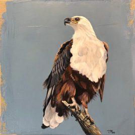 The Studio Art Gallery   2021 Mandela Day Block Art Exhibition   Joanne Milne - Fish Eagle