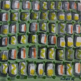 The Studio Art Gallery   2021 Mandela Day Block Art Exhibition   Janet Kemp - Through the Window I